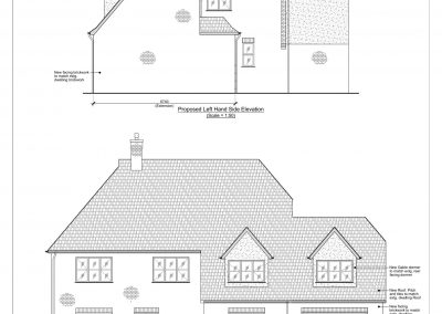1 Nafferton Rise - Elevation Proposed