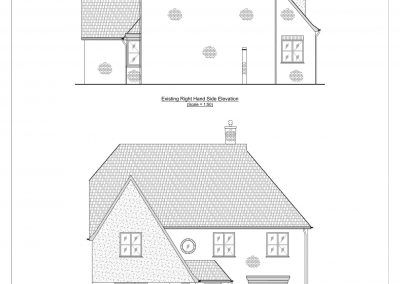 1 Nafferton Rise - Existing Elevation