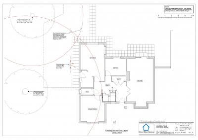 1 Nafferton Rise - Existing Ground Floor Plan