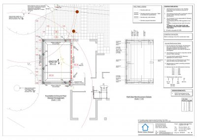 1 Nafferton Rise - Foundation Plan