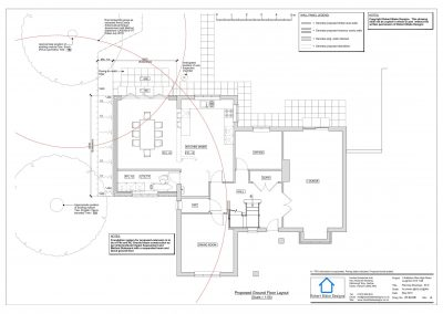 1 Nafferton Rise - Ground Floor Plan