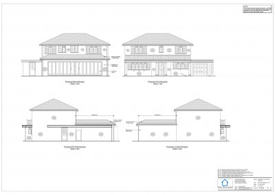 12 Monks Close - Proposed Elevation