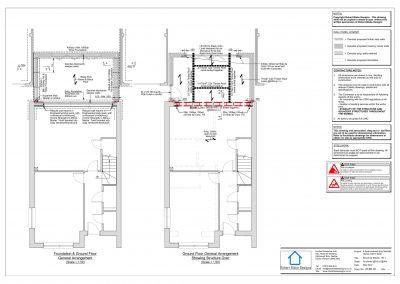 8 Sparrowhawk Way - Proposec Structural Plan
