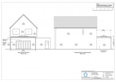 8 Sparrowhawk Way - Proposed Elevation 2